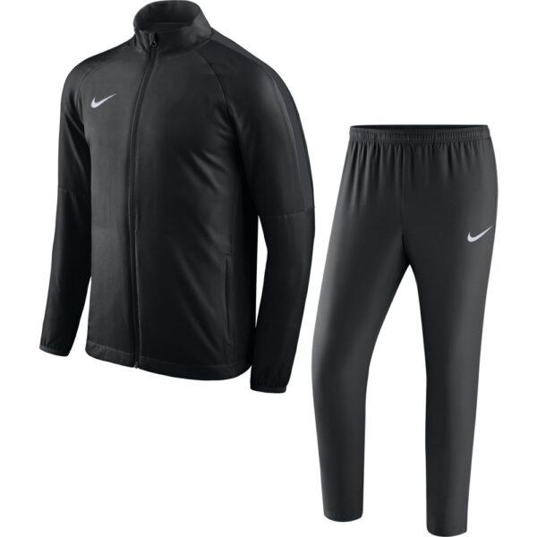 Nike Dry Academy 18 Woven Trainingspak Zwart Donkergrijs