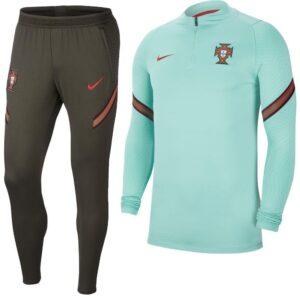 Nike Portugal Strike Drill Trainingspak 2020-2022 Groen | Maat Trainingspakken