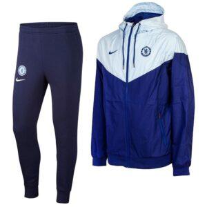 Nike Chelsea Windrunner Trainingspak 2020-2021 Blauw Cobaltblauw | Maat Trainingspakken