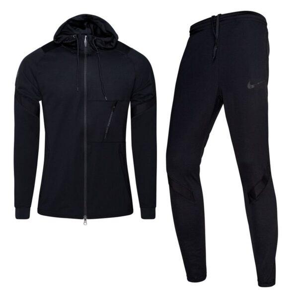 Nike Dry Strike Trainingspak Hoodie Zwart Zwart